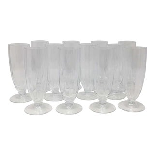Mid 20th Century Da Vinci Collection, Lilium Champagne Flutes - Set of 12 For Sale
