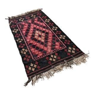 Oriental Wool Rug - 3′3″ × 6′8″ For Sale