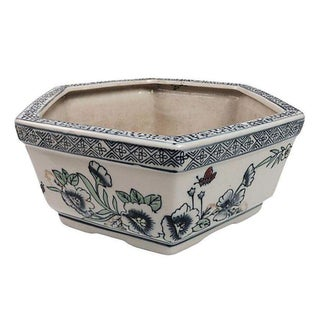Chinese Porcelain Bulb Planter For Sale