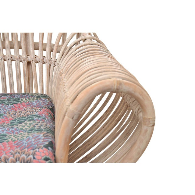 1960s 1960s Vintage Boho Chic Bamboo Sofa For Sale - Image 5 of 8