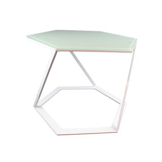 Modern Pasargad NY Charlotte Side Table For Sale