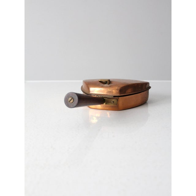 Mid 20th Century Mid-Century Italian Copper Silent Butler For Sale - Image 5 of 11