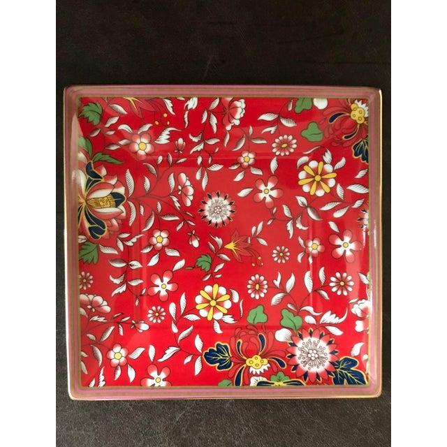 Wedgwood Wanderlust Crimson Jewel Tray For Sale - Image 9 of 9