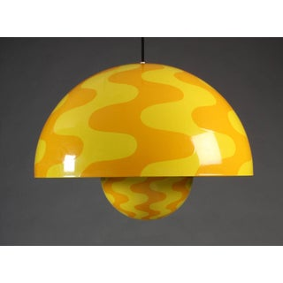 Large and Rare Flower Pot Pendant by Verner Panton/2 Available Preview