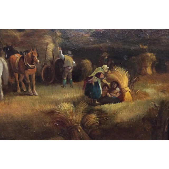 Oil Paint Antique 18th Century Dutch Old Masters Oil Painting For Sale - Image 7 of 10