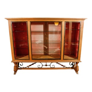 French Modern Display Cabinet For Sale