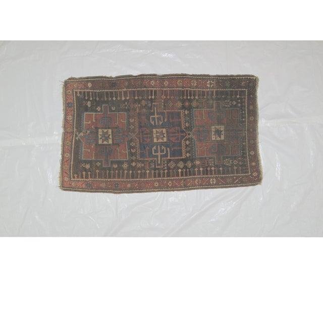 "Leon Banilivi Kazak Brown Wool Rug - 5'6"" X 3'2"" - Image 2 of 7"