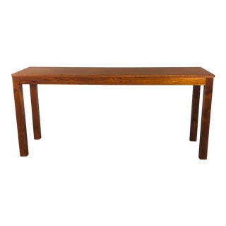 Danish Teak Trioh Console Table For Sale