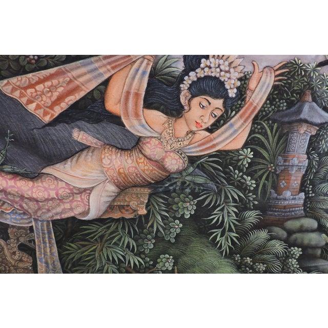 Balinese Bathing Ladies Painting For Sale In San Francisco - Image 6 of 8