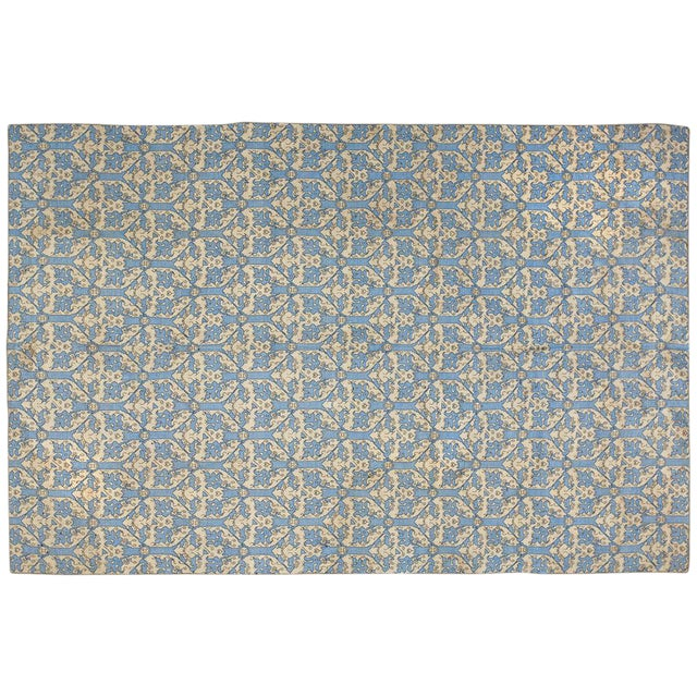 Italian Needlepoint Rug- 5′10″ × 8′8″ For Sale