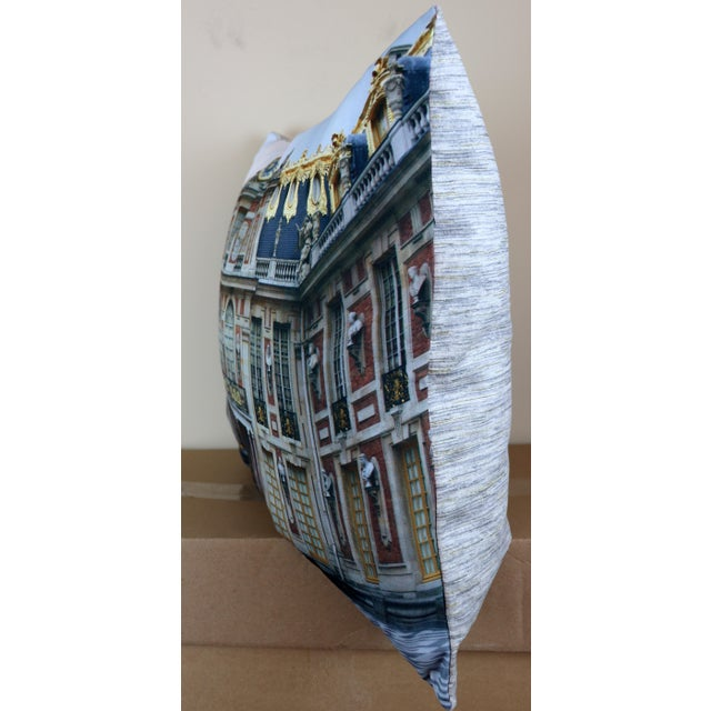 Swede Collection Versailles Rear Courtyard Photo Pillow For Sale - Image 4 of 12