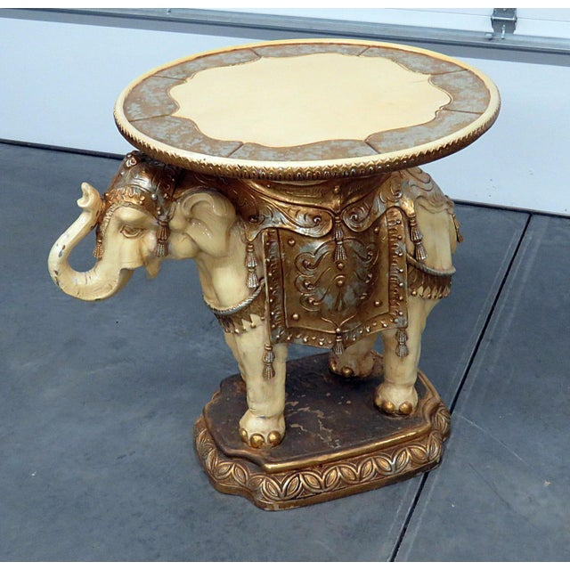 Indian Elephant Center Table For Sale - Image 11 of 11
