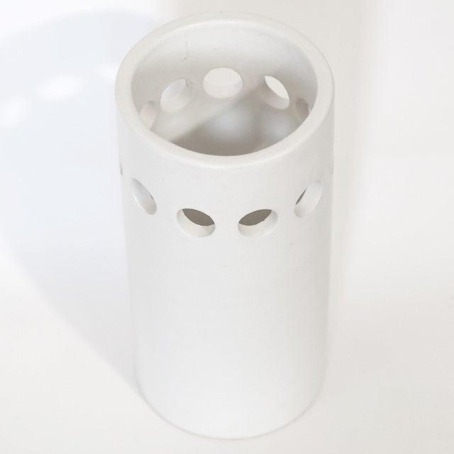 Contemporary White Bitossi for Rosenthal Netter Vase For Sale - Image 3 of 8