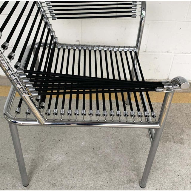 Modern Bungee Armchair For Sale In Atlanta - Image 6 of 10