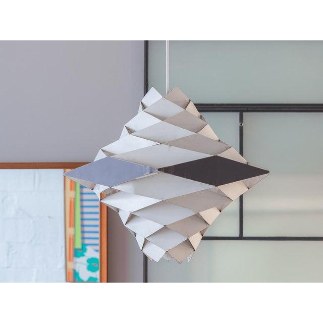 Aluminum Symfoni Pendant Light by Preben Dahl for Hans Folsgaard For Sale - Image 7 of 7