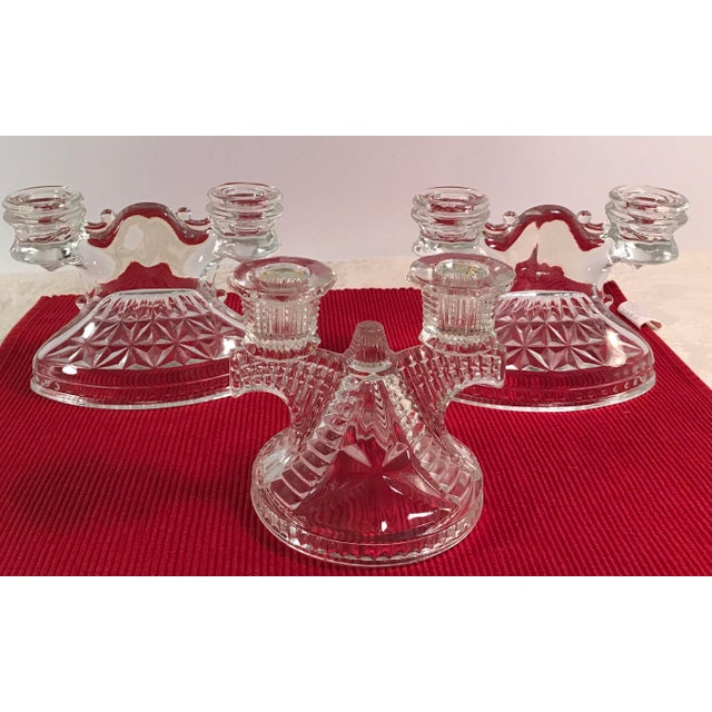 Art Deco Candle Holders - Set of 3 - Image 5 of 9