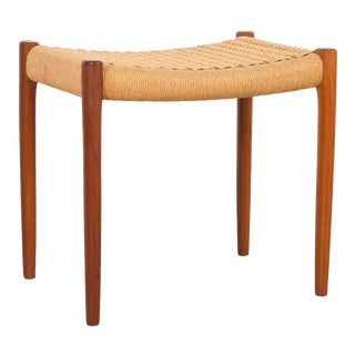 Niels Moller Mid-Century Modern Stool For Sale