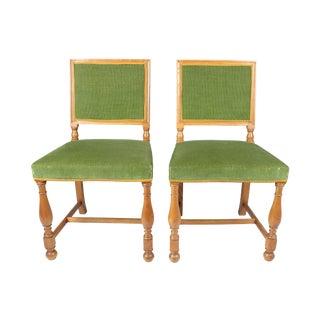 Swedish Hall Chairs - A Pair