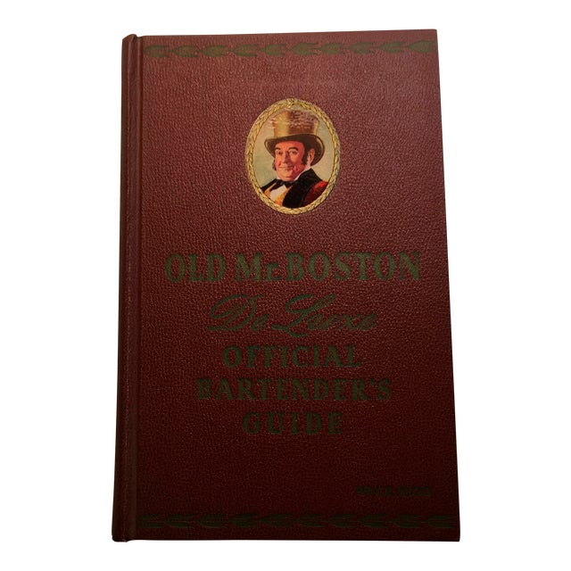 """""""Old Mr. Boston Official Bartenders Guide"""" 1955 Book For Sale"""