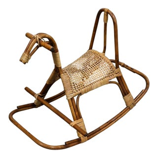 Swedish MCM Rocking Horse For Sale