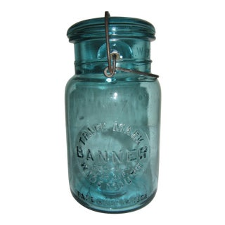 Banner Wide Mouth Quart Fruit Jar