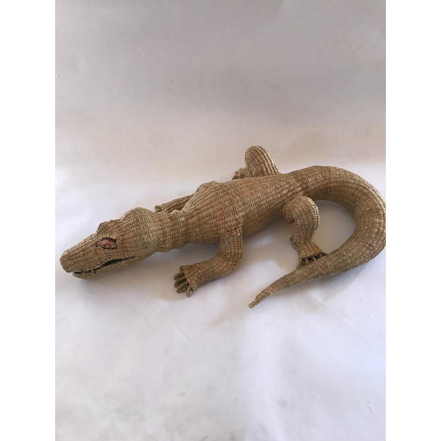 Contemporary Folk Art Mario Lopez Torres Crocodile For Sale - Image 3 of 7