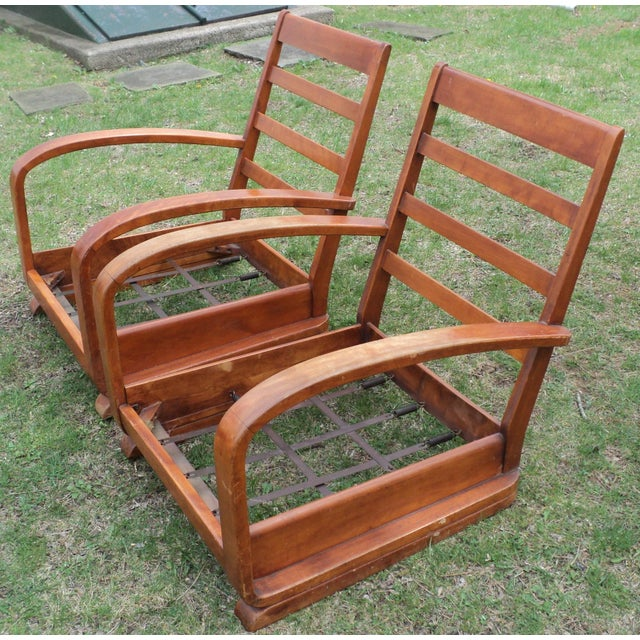 Mid-Century Club Chairs - A Pair - Image 11 of 11