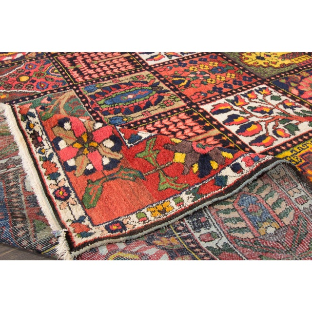 """Vintage Hand-Knotted Persian Rug - 6'9"""" X 10'5"""" - Image 3 of 4"""
