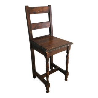 Early 19th Century English Child's Chair For Sale