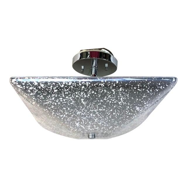 Justice Design Fusion 2-Light Semi-Flush Bowl Ceiling Light For Sale