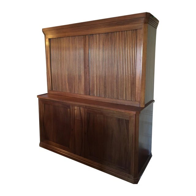 French Cabinet with Accordion Doors - Image 1 of 7