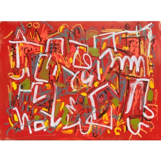 """Sarah Trundle, """"City Slick"""", Contemporary Abstract Painting For Sale"""