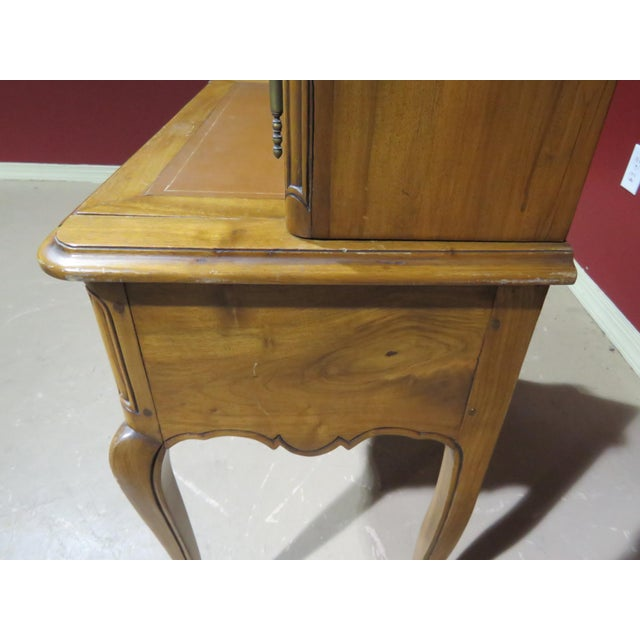 Brown 19th C. Country French Writing Desk For Sale - Image 8 of 13