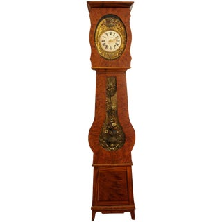 1870s Vintage French Comtoise Clock For Sale