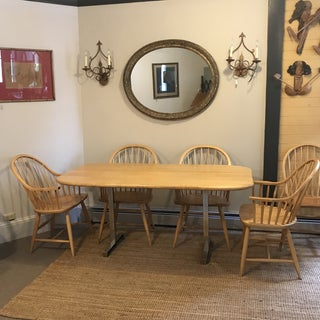Pompanoosuc Mills Country Modern Dining Table & Chairs Preview