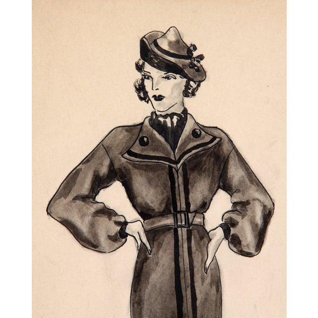 Winter Fashion Sketch - Image 4 of 5
