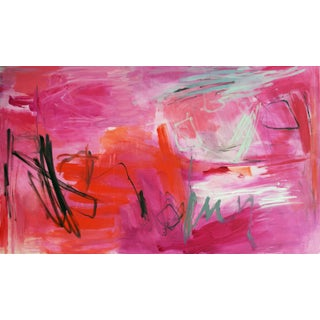 """""""Full Moon"""" by Trixie Pitts Large Abstract Expressionist Painting For Sale"""