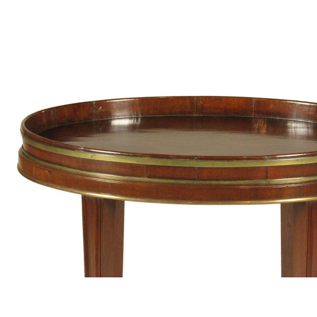Late 18th Century 18th-C Mahogany Butler's Tray on Stand For Sale - Image 5 of 11