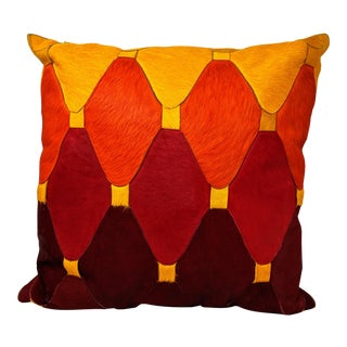 Cowhide Moroccan Pillow For Sale