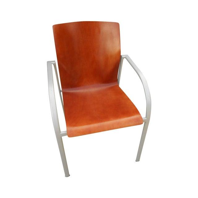 Harter Kion Midcentury Danish Molded Plywood Chair - Image 1 of 6