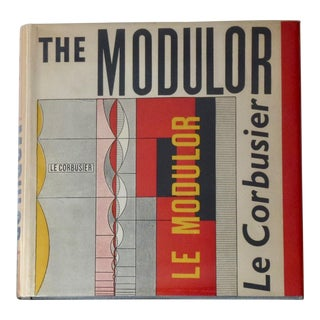 Le Corbusier's the Modulor Book For Sale