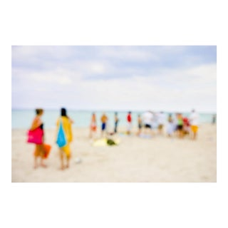 "Cheryl Maeder ""Beach Series X"" Archival Photographic Watercolor Print For Sale"