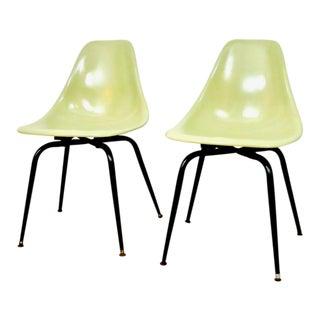 Vintage Eames Fiberglass Shell Chairs - A Pair
