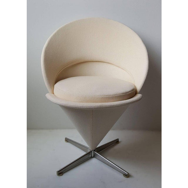 Contemporary Cone Chair by Verner Panton For Sale - Image 3 of 5
