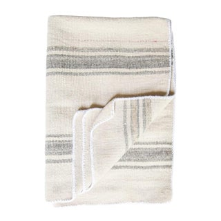 Gray and White Striped Peruvian Frazda