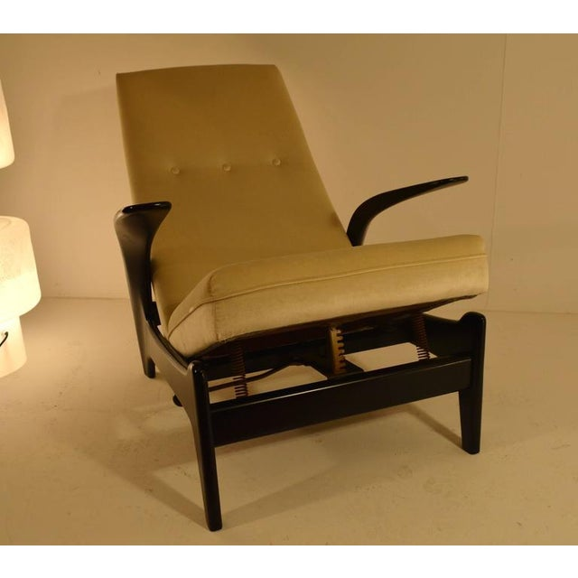 Sculptural Gimson and Slater Rock'n Rest Lounge Chair For Sale - Image 6 of 8