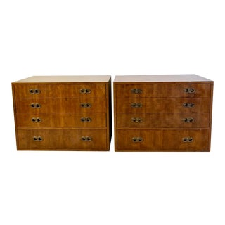 1960s Danish Modern Henredon Chests - a Pair For Sale