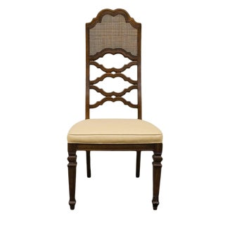 Late 20th Century Vintage Lane Furniture Spanish Revival Style Dining Chair For Sale