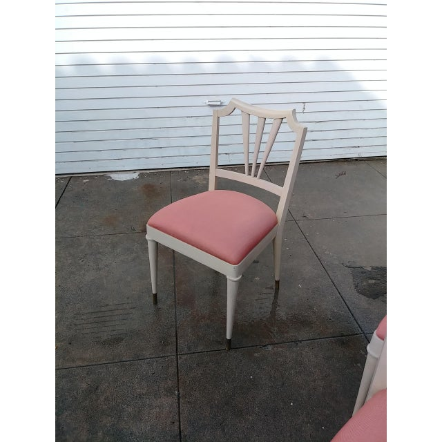 Wood 1930s Vintage Paul Frank Dinning Chairs- Set of 4 For Sale - Image 7 of 13