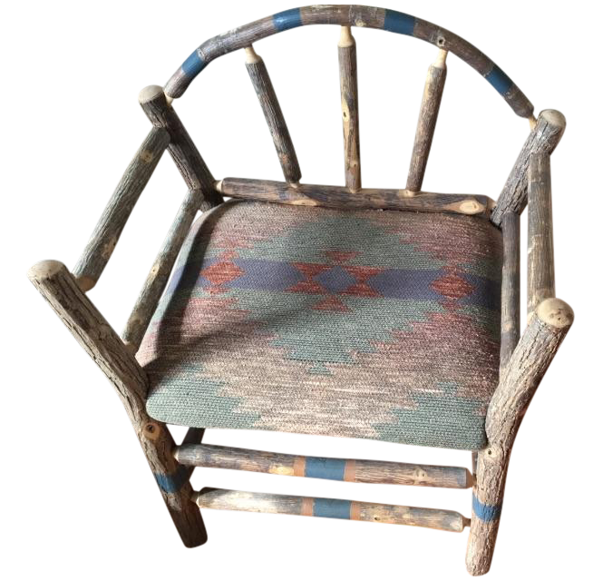 Vintage Ralph Lauren Southwestern Chairs   Pair